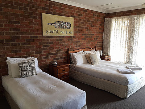 Cessnock Accommodation Twin Room Hunter Valley